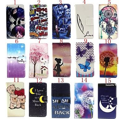 Capinha Para LG Capinha LG Porta-Cartão Carteira Com Suporte Flip Corpo Inteiro Desenho Animado Rígida Couro Ecológico para LG Spirit/LG