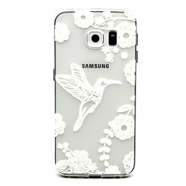 hoesje Voor Samsung Galaxy Samsung Galaxy hoesje Transparant Achterkant dier TPU voor S6 edge plus S6 edge S6 S5 Mini S5