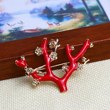 Heren Dames Verguld Legering Rood Modieus Sieraden Feest Causaal Kostuum juwelen
