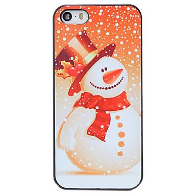 hoesje Voor iPhone 5 iPhone 5 hoesje Patroon Achterkant Kerstmis Hard PC voor iPhone SE/5s iPhone 5