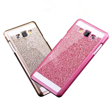 bling geval dekking glitter poeder dekking fashional telefoon geval dekking met logo ultra-dunne behuizing voor Samsung Galaxy A3 / A5 /