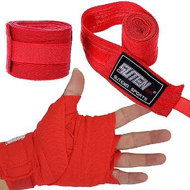 Faixa para as Mãos Suporte de Mão & Punho para Taekwondo Boxe Sanda Muay Thai Karatê Arte Marcial Unisexo Ajustável Elástico Redutor de