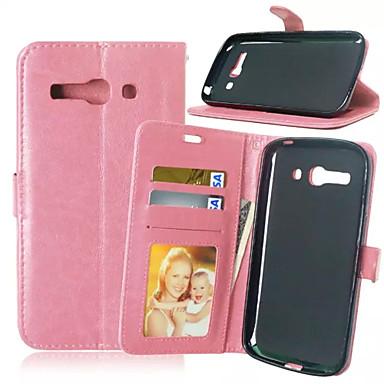 alta qualidade pu carteira de couro caso coldre de telefone celular para Alcatel C9 (cores sortidas)