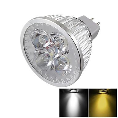 YouOKLight 400 lm GU5.3(MR16) Lâmpadas de Foco de LED MR16 4 leds LED de Alta Potência Regulável Decorativa Branco Quente Branco Frio DC