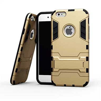 Case For Apple iPhone X iPhone 8 iPhone 6 iPhone 6 Plus Shockproof with Stand Back Cover Armor Soft TPU for iPhone X iPhone 8 Plus iPhone