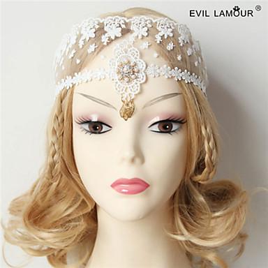 laço tecido headbands headpiece casamento festa elegante feminino estilo