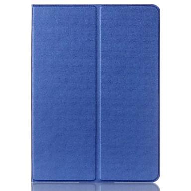 hoesje Voor iPad Mini 4 met standaard Origami 360° rotatie Volledig hoesje Effen Kleur PU-nahka voor iPad Mini 4