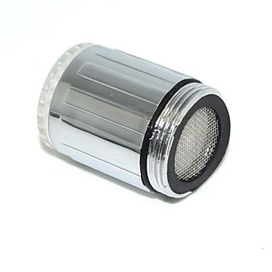 LED-Wasserhahn Küche LED-Licht Wasserhahn Armaturen Köpfe bunte Glühen Dusche Strom Bad