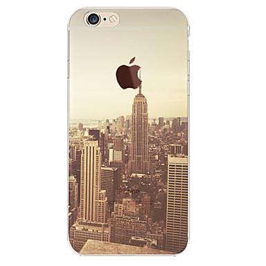 perto material novo york TPU caso de telefone macio perfeita para iphone 6 Plus / 6s mais