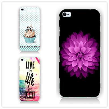 hoesje Voor iPhone 5 Apple iPhone 5 hoesje Patroon Achterkant Cartoon Hard PC voor iPhone SE / 5s iPhone 5