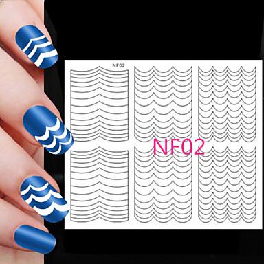 5x78pcs tamanhos diferentes tomada profissional ferramenta padrão nail art