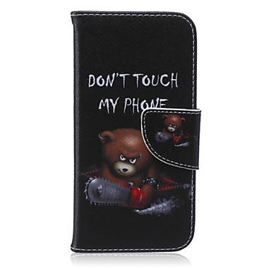 Capinha Para Apple iPhone 6 iPhone 6 Plus Porta-Cartão Carteira Com Suporte Flip Estampada Capa Proteção Completa Desenho Animado Rígida