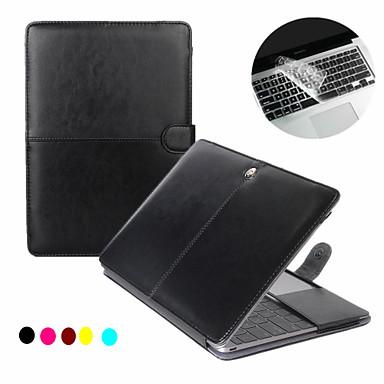 Capa para MacBook Sólido PU Leather para MacBook Pro 15 Polegadas com Retina Display / MacBook Pro 13 Polegadas com Retina Display