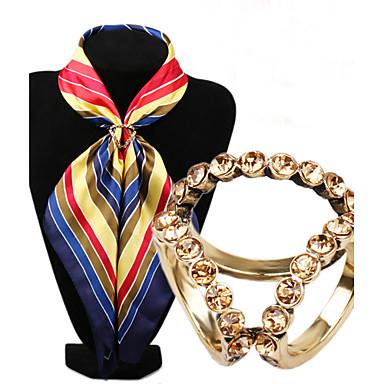 Feminino Broches Moda Jóias de Luxo Imitações de Diamante Liga Jóias Para Casamento Festa Ocasião Especial Aniversário Diário Casual