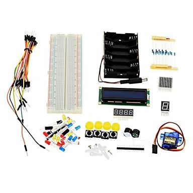 kit de aprendizagem básica para o kit acessório universal arduino