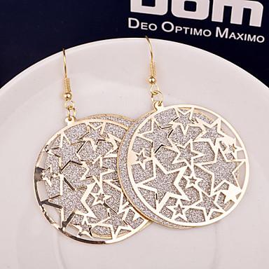 Dames Ster Druppel oorbellen - Zilver Gouden oorbellen Voor Bruiloft Feest Dagelijks