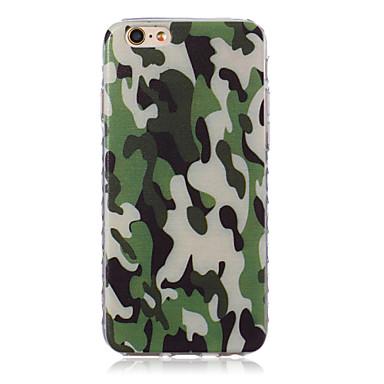 Voor iPhone 5 hoesje Patroon hoesje Achterkantje hoesje Camouflage Kleur Zacht TPU iPhone SE/5s/5