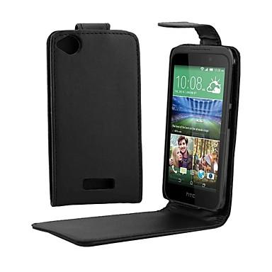 pu leer up down flip mobiele huid geval dekking voor HTC Desire 320