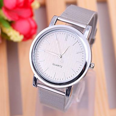 Dames Modieus horloge Kwarts Vrijetijdshorloge Legering Band minimalistische Zilver Goud