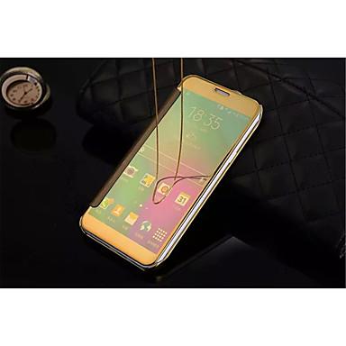tok Για Samsung Galaxy Samsung Galaxy Θήκη Καθρέφτης Ανοιγόμενη Διαφανής Πλήρης Θήκη Συμπαγές Χρώμα PC για A9(2016) A7(2016) A5(2016)