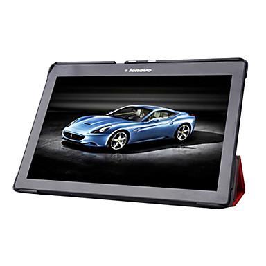 economico Custodie per tablet-Lenovo Custodia Per Lenovo Custodie integrali / Custodie con supporto Integrale Tinta unita Resistente pelle sintetica per Lenovo Tab 2 A10-70
