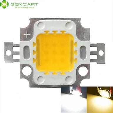 10w 900LM branco / branco morno 3000k / 6000k alta brilhante LED chipe lâmpada dc 32-35v