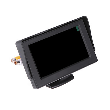 dearroad carro lcd inverter câmera colorida retrovisor monitor de dvd vcr controle remoto 4.3