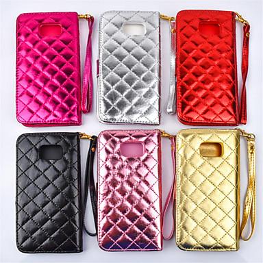 Para Samsung Galaxy Note Carteira / Porta-Cartão / Com Suporte / Flip Capinha Corpo Inteiro Capinha Estampa Geométrica Couro PU Samsung