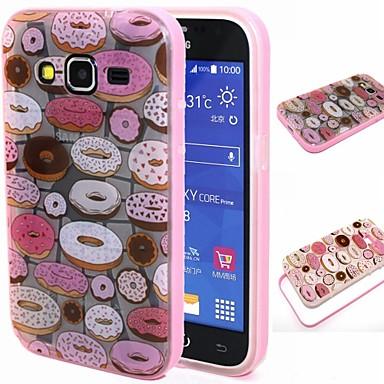 Para Samsung Galaxy Capinhas Antichoque / Translúcido / Estampada Capinha Capa Traseira Capinha Desenho TPU SamsungGrand Prime / Grand