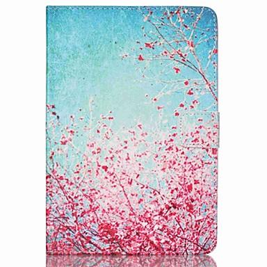 Capinha Para iPad Mini 3/2/1 Porta-Cartão Com Suporte Capa Proteção Completa Flor PU Leather para iPad Mini 3/2/1