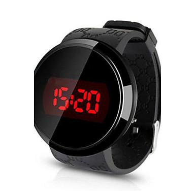 Χαμηλού Κόστους Ανδρικά ρολόγια-Ανδρικά Ρολόι Καρπού Ψηφιακό ρολόι Ψηφιακή σιλικόνη Μαύρο Ανθεκτικό στο Νερό Οθόνη Αφής Δημιουργικό Ψηφιακό Μαύρο Μαύρο / Λευκό Άσπρο / Ασημί Δύο χρόνια Διάρκεια Ζωής Μπαταρίας / LED