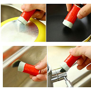2pcs inoxidável magia descontaminação aço varinhas hastes de metal de descontaminação de limpeza doméstica cor aleatória