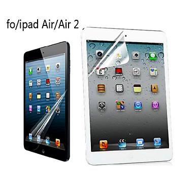 professionele hoge transparantie lcd kristalheldere screen protector met een reinigingsdoekje voor ipad lucht / lucht 2