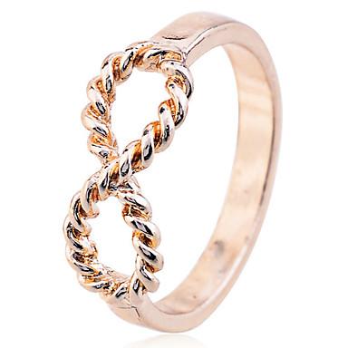Dames Bandring / Statement Ring - Verzilverd, Verguld Modieus 7 Zilver / Gouden Voor Feest / Dagelijks / Causaal