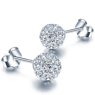 Dames Sterling zilver Oorknopjes - oorbellen Voor Bruiloft Feest Dagelijks