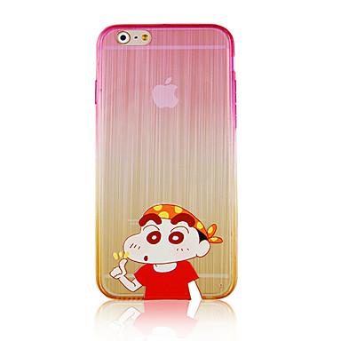 retorna o caso dalai desenhos animados padrão de gradiente telefone rramp caso capa Voltar para iphone6 / 6s