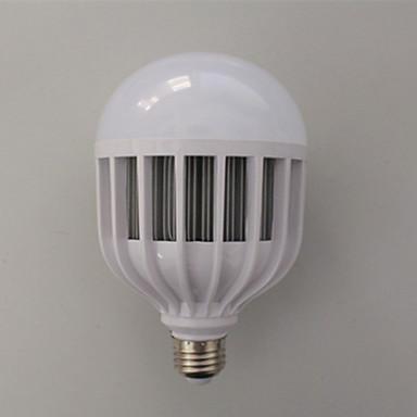 Недорогие Светодиодные электролампы-LERHOME 36 W Круглые LED лампы 3600 lm E26 / E27 G125 72 Светодиодные бусины SMD 5730 Декоративная Холодный белый 220-240 V / 1 шт. / RoHs / CE / PSE / C-tick