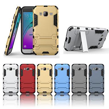 Capinha Para Samsung Galaxy Samsung Galaxy Capinhas Antichoque / Com Suporte Capa traseira Armadura Rígida PC para J7 (2016) / J7 / J5 (2016)