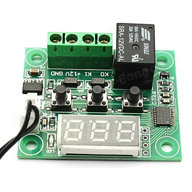 W1209 DC 12V -50 to +110 Temperature Control Switch Thermostat Thermometer