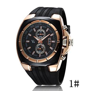 Mulheres Relógio de Moda Relógio Esportivo Quartzo Relógio Casual Plastic Banda Legal Preta
