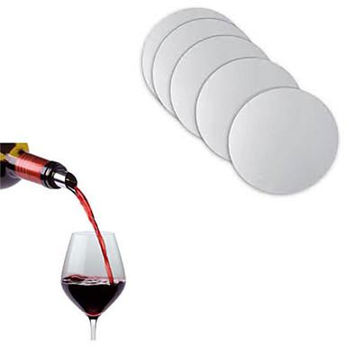 újrahasznosítható mosható liquor kiöntő lemez fólia bor kiöntő juice bar üveget kiöntő dugó, meg a 10