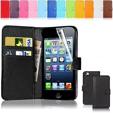 Case For iPhone 5C Apple iPhone 8 iPhone 8 Plus Full Body Cases Hard PU Leather for iPhone 8 Plus iPhone 8 iPhone 5c