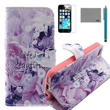 hoesje Voor iPhone 5c Apple Volledig hoesje Hard PU-nahka voor iPhone 5c