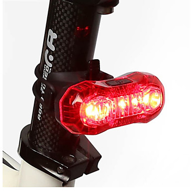 cheap Bike Lights-LED Bike Light Rear Bike Tail Light Safety Light Tail Light - Cycling Rechargeable LED Light Easy Carrying Other USB Cycling / Bike