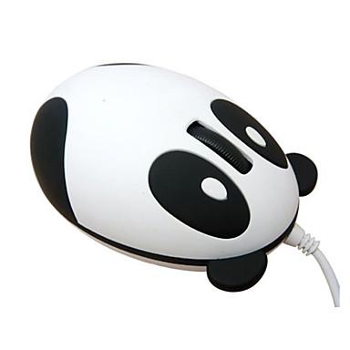 super schattige panda unieke ontwerp draagbare usb bedrade optische prachtige mooie modieuze kleine mini muis