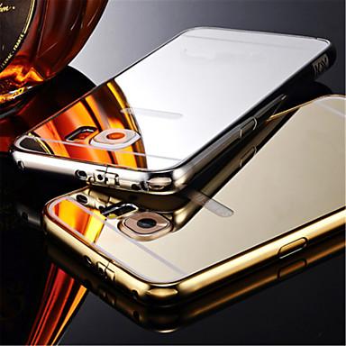 Voor Samsung Galaxy hoesje Beplating / Spiegel hoesje Achterkantje hoesje Effen kleur PC Samsung S6