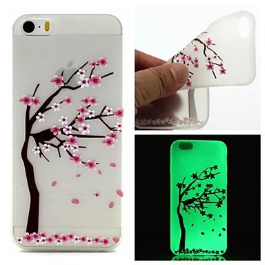 hoesje Voor iPhone 6 iPhone 6 Plus Glow in the dark Patroon Achterkantje Boom Zacht TPU voor iPhone 6s Plus iPhone 6 Plus iPhone 6s