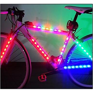 Fietsverlichting veiligheidslichten wiel lichten LED - Wielrennen Gemakkelijk draagbaar LED Lamp AAA Lumens Batterij Fietsen