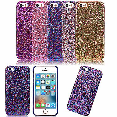 Voor iPhone 5 hoesje Ultradun hoesje Achterkantje hoesje Glitterglans Hard PC iPhone SE/5s/5
