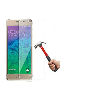explosieveilige premium gehard glas filmdoek beschermkap 0,3 mm gehard membraan boog voor Galaxy alpha / G850